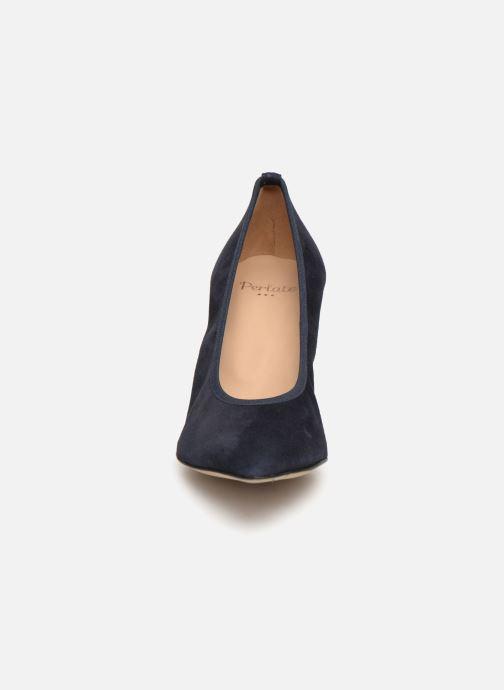 Escarpins Perlato 11128 Bleu vue portées chaussures