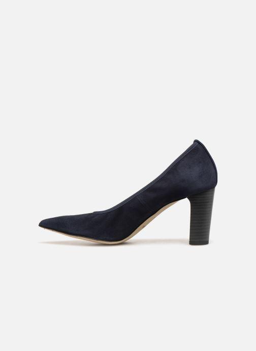 High heels Perlato 11128 Blue front view