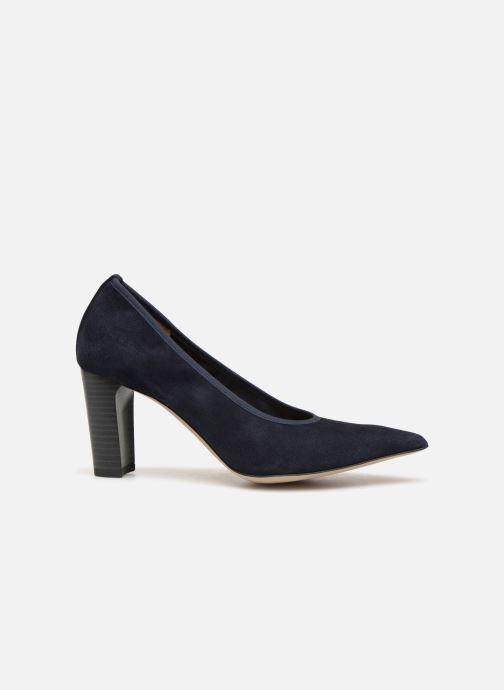 Zapatos de tacón Perlato 11128 Azul vistra trasera