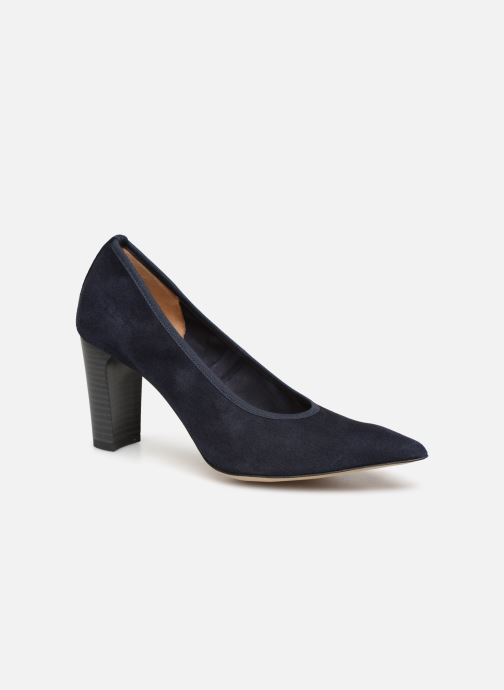 High heels Perlato 11128 Blue detailed view/ Pair view