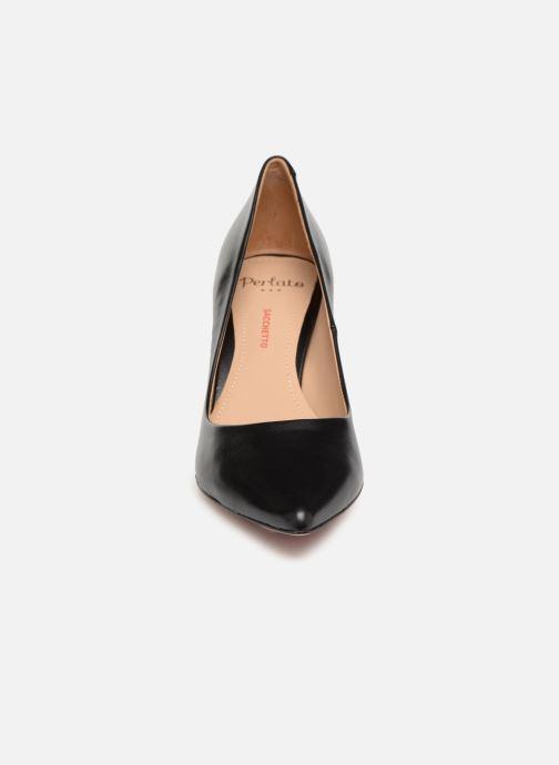 Zapatos de tacón Perlato 10509 Negro vista del modelo