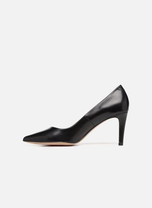 Zapatos de tacón Perlato 10509 Negro vista de frente