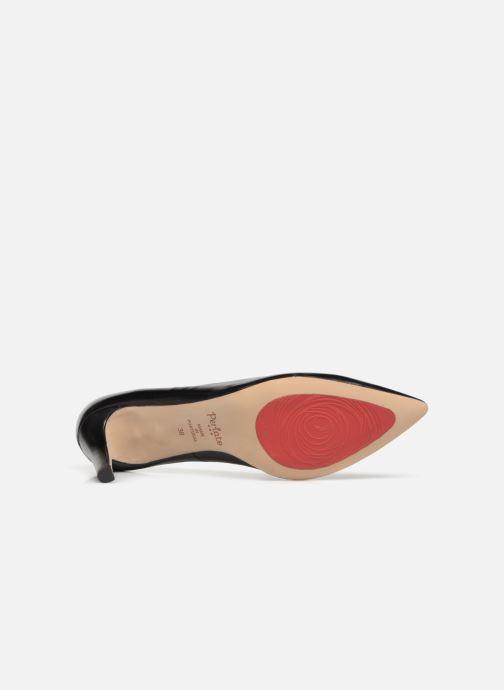 Zapatos de tacón Perlato 10509 Negro vista de arriba