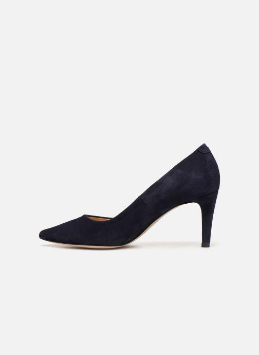High heels Perlato 10509 Blue front view