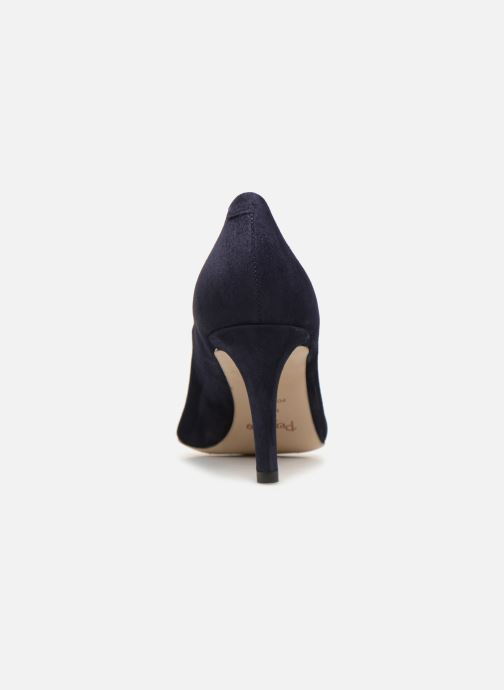 High heels Perlato 10509 Blue view from the right