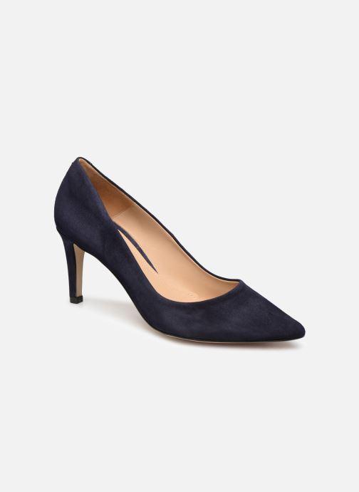High heels Perlato 10509 Blue detailed view/ Pair view