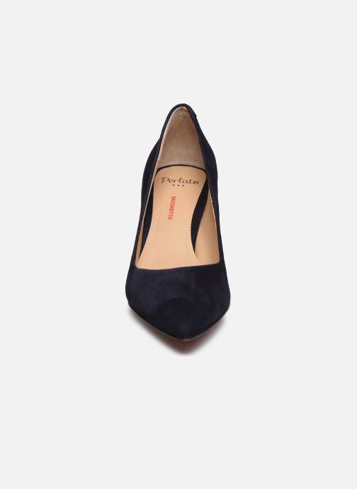 Escarpins Perlato 10509 Bleu vue portées chaussures