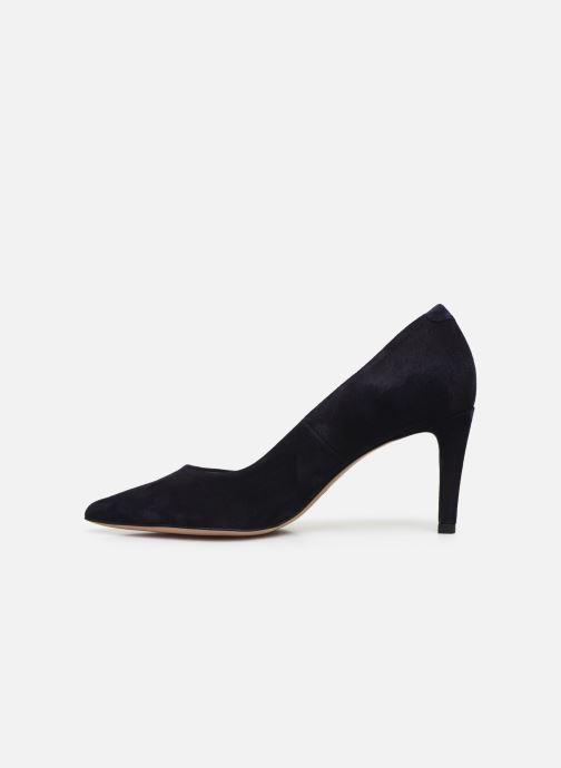 Zapatos de tacón Perlato 10509 Azul vista de frente
