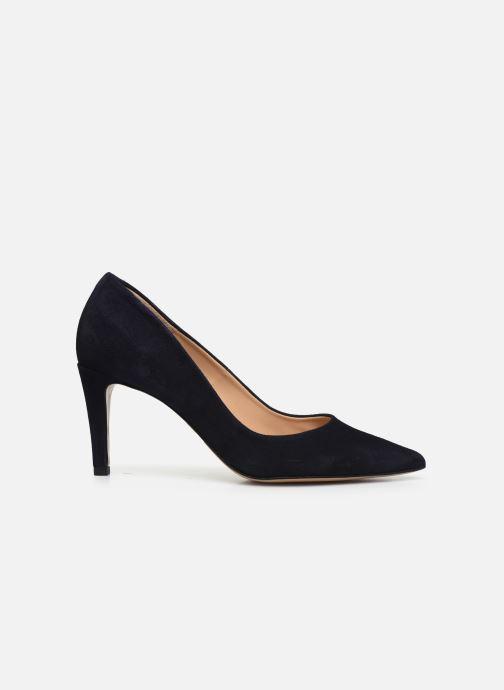 Zapatos de tacón Perlato 10509 Azul vistra trasera