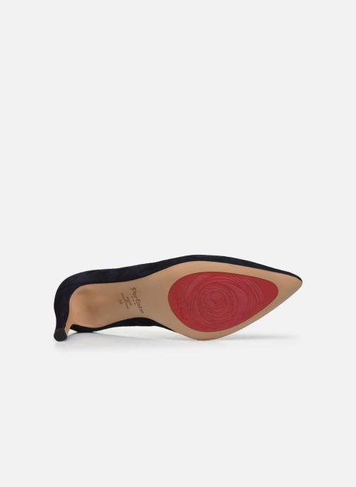 Zapatos de tacón Perlato 10509 Azul vista de arriba