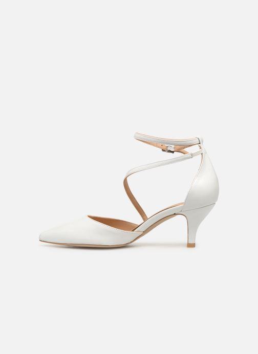 Zapatos de tacón Perlato 11125 Blanco vista de frente
