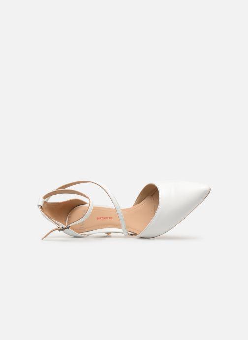 Zapatos de tacón Perlato 11125 Blanco vista lateral izquierda