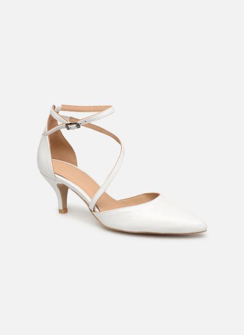 Zapatos de tacón Perlato 11125 Blanco vista de detalle / par