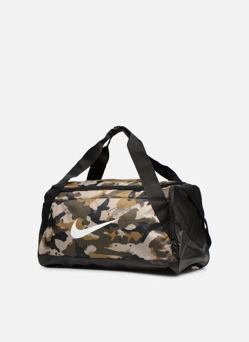Sporttaschen Nike Nike Brasilia (Small) Training Duffel Bag grün schuhe getragen
