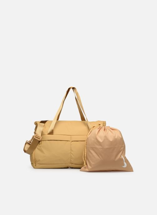 Bolsas de deporte Nike Women's Nike Legend Club Training Bag Oro y bronce vista lateral izquierda