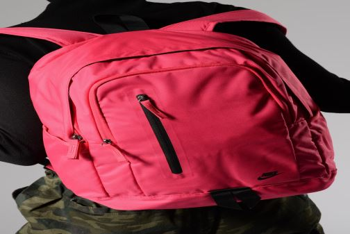 Rucksacks Nike Nike All Access Soleday Pink view from underneath / model view