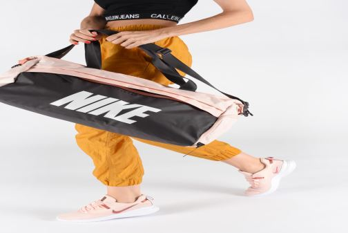 Borsa da palestra Nike Women's Training Graphic Club Bag Rosa immagine dal basso