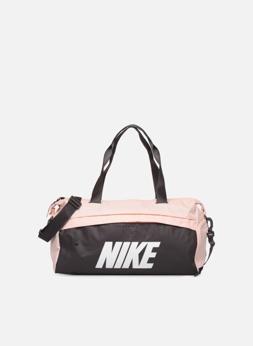 Bolsas de deporte Nike Women's Training Graphic Club Bag Rosa vista de detalle / par