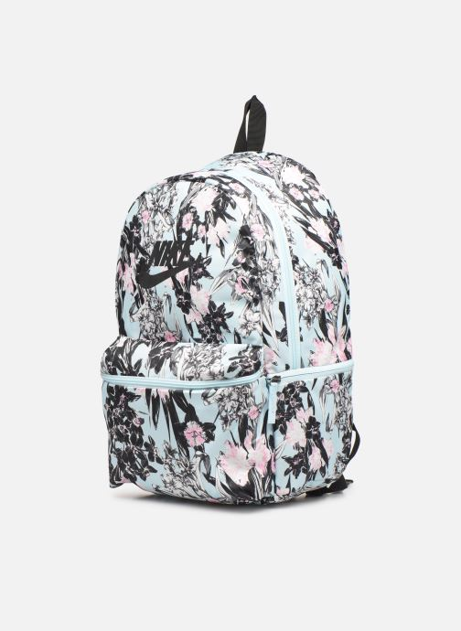 Rucksäcke Nike Nike Heritage Backpack blau schuhe getragen