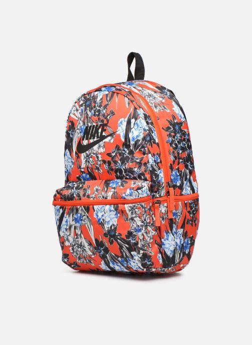 Rucksäcke Nike Nike Heritage Backpack orange schuhe getragen