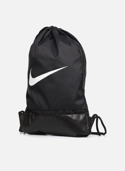 Sporttaschen Nike Nike Brasilia Training Gymsack schwarz schuhe getragen