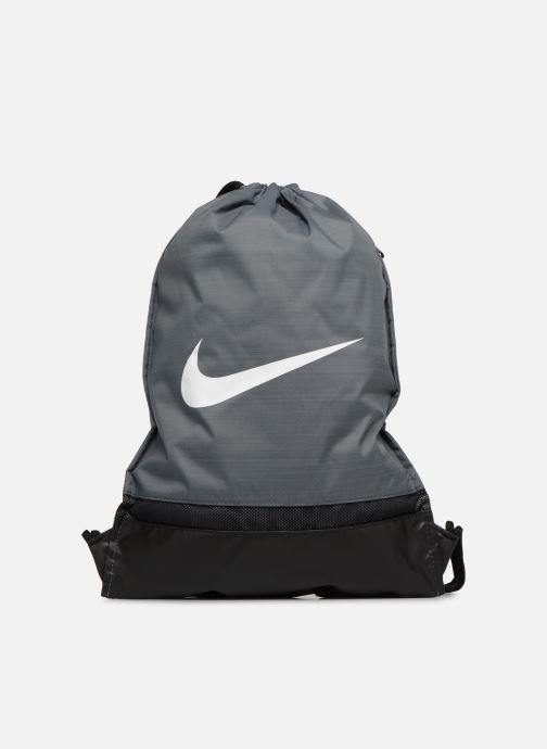 Bolsas de deporte Nike Nike Brasilia Training Gymsack Gris vista de detalle / par