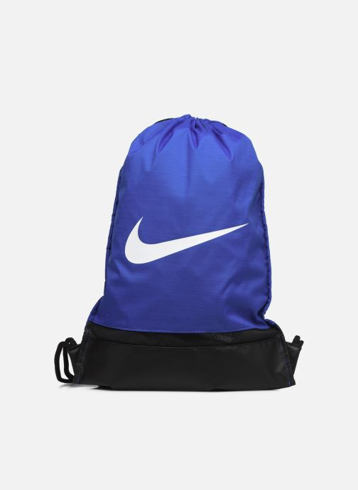Sporttassen Nike Nike Brasilia Training Gymsack Blauw detail