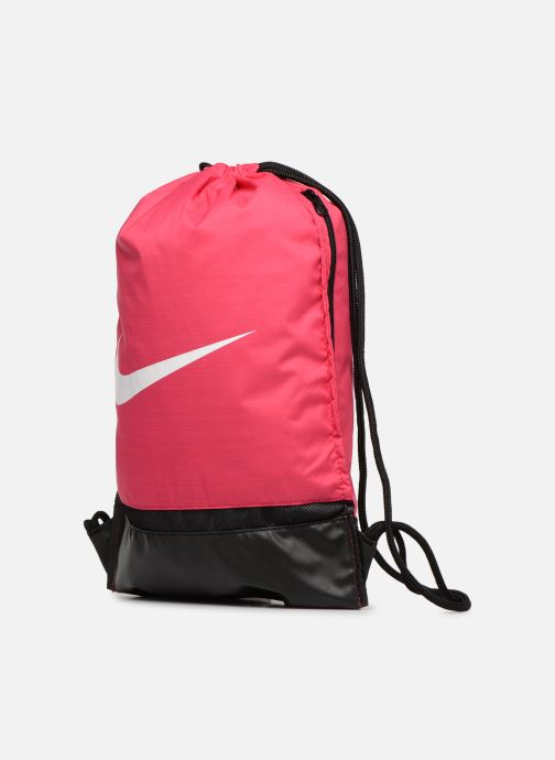 Sporttaschen Nike Nike Brasilia Training Gymsack rosa schuhe getragen