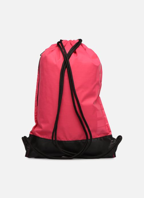 Sports bags Nike Nike Brasilia Training Gymsack Pink front view