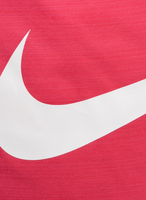 Bolsas de deporte Nike Nike Brasilia Training Gymsack Rosa vista lateral izquierda