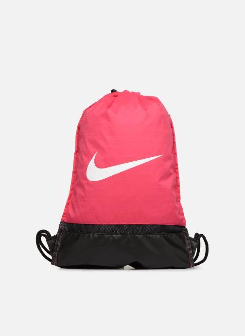 Bolsas de deporte Nike Nike Brasilia Training Gymsack Rosa vista de detalle / par