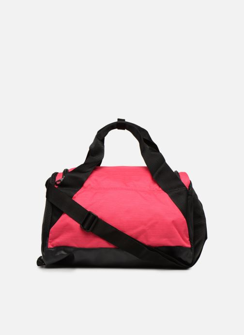 Sports bags Nike Nike Brasilia (Extra-Small) Duffel Bag Pink front view