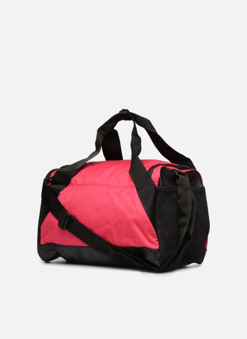 Sportväskor Nike Nike Brasilia (Extra-Small) Duffel Bag Rosa Bild från höger sidan