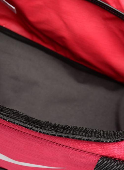 Sportväskor Nike Nike Brasilia (Extra-Small) Duffel Bag Rosa bild från baksidan