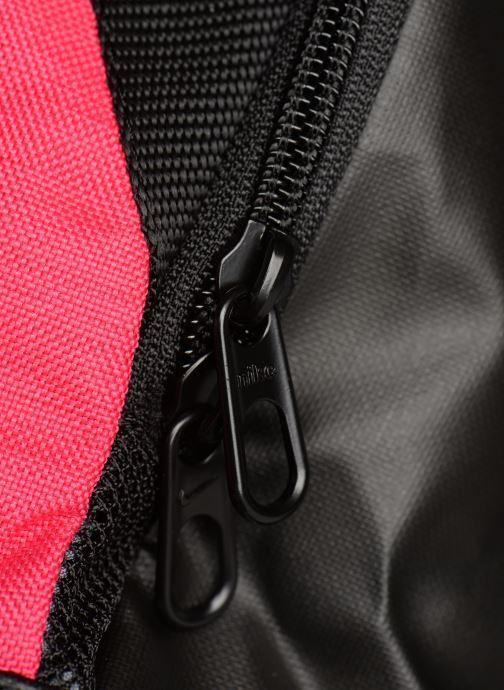 Sportväskor Nike Nike Brasilia (Extra-Small) Duffel Bag Rosa bild från vänster sidan