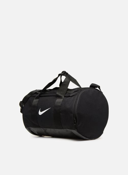 Sacs de sport Nike Nike Team  Sac en toile de training Noir vue portées chaussures