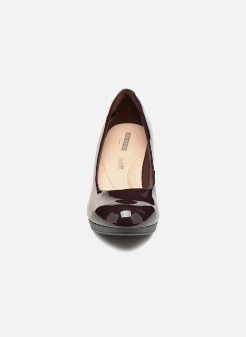 Escarpins Clarks Adriel Viola Violet vue portées chaussures