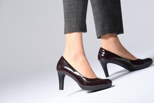 Zapatos de tacón Clarks Adriel Viola Rosa vista de abajo