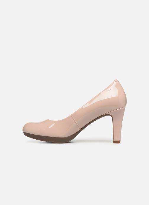 Zapatos de tacón Clarks Adriel Viola Rosa vista de frente