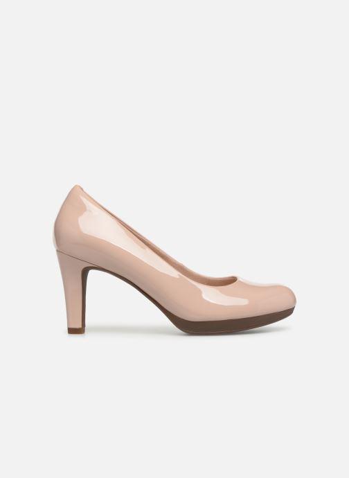 Zapatos de tacón Clarks Adriel Viola Rosa vistra trasera
