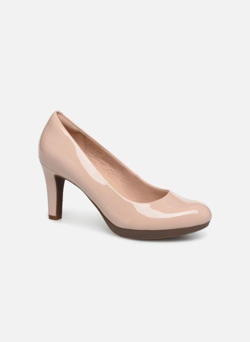 Zapatos de tacón Clarks Adriel Viola Rosa vista de detalle / par