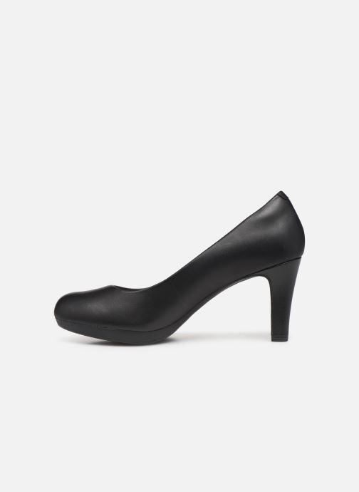 High heels Clarks Adriel Viola Black front view