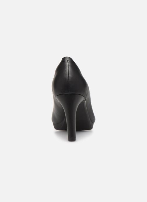 High heels Clarks Adriel Viola Black view from the right