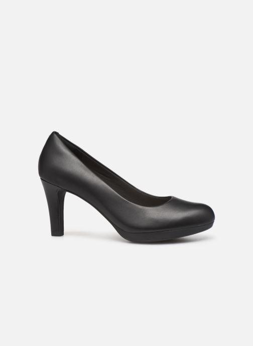 High heels Clarks Adriel Viola Black back view