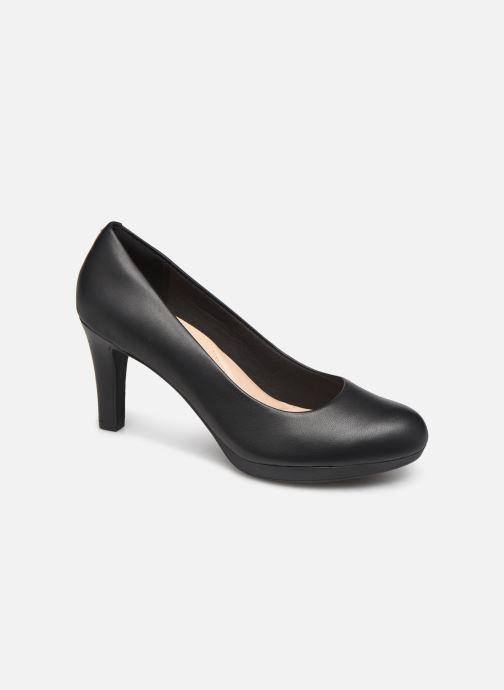 Høje hæle Clarks Adriel Viola Sort detaljeret billede af skoene