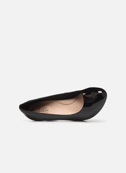 Zapatos de tacón Clarks Adriel Viola Negro vista lateral izquierda