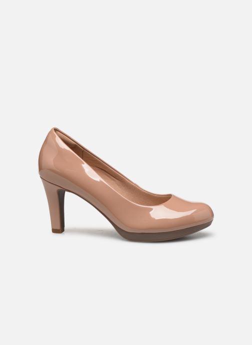 Zapatos de tacón Clarks Adriel Viola Beige vistra trasera