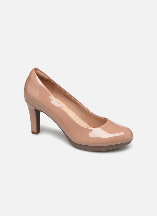 Zapatos de tacón Clarks Adriel Viola Beige vista de detalle / par