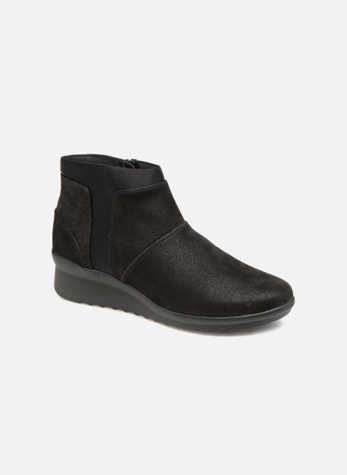 Bottines et boots Clarks Caddell Sloane Noir vue détail/paire