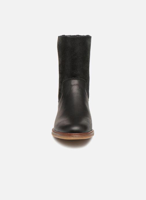 Bottines et boots Clarks Clarkdale Axel Noir vue portées chaussures